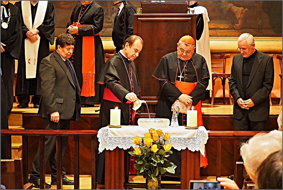 Ekumenická modloslužba, 19. 1. 2015; Zdroj:  http://www.ekumenickarada.cz