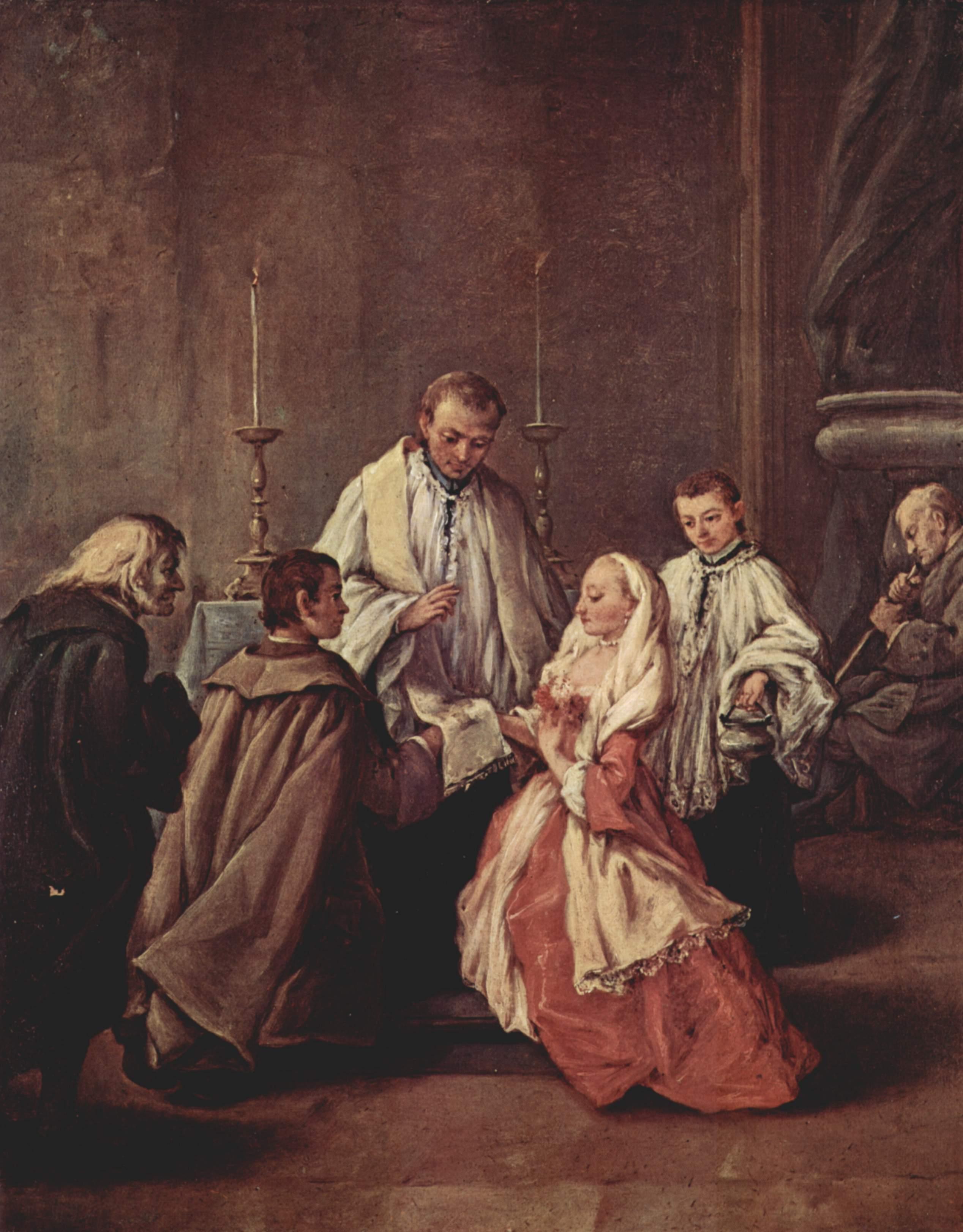 Pietro Longhi - the-sacrament-of-marriage