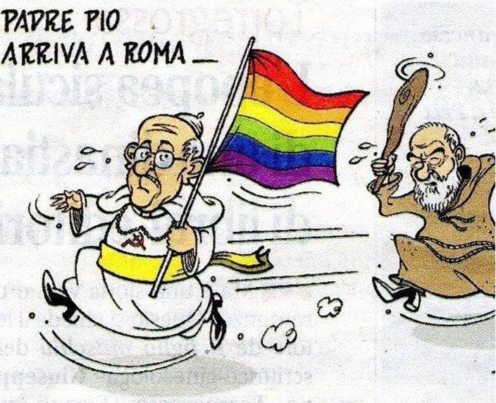 P. Pio přijel do Říma.