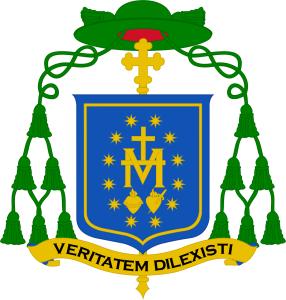 Znak nového biskupa