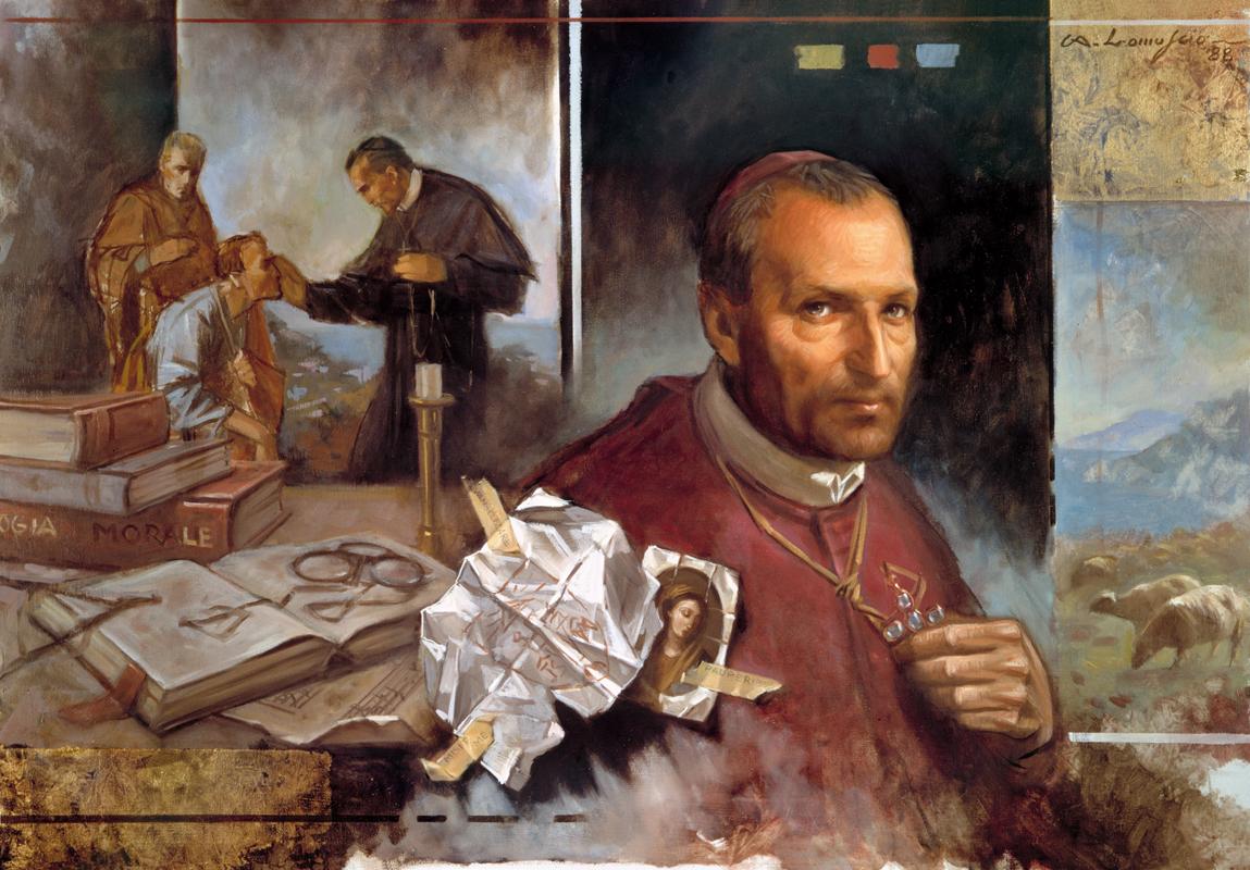 S._Alfonso_Maria_de_Liguori_-_'Evangelizare_Pauperibus_Misit_Me'