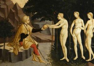 Master of the Judgement of Paris; The Judgement of Paris; Glasgow Museums; http://www.artuk.org/artworks/the-judgement-of-paris-85568