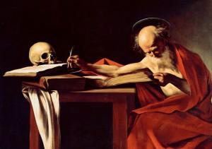 Saint-Jerome-Caravaggi
